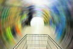 Het abstracte winkelen Stock Foto