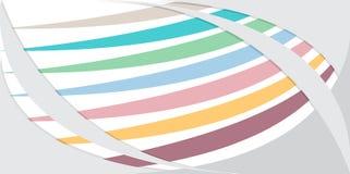 Het abstracte witte ontwerp van de golf vectorillustrator blauwe roze purpere pastelkleurachtergrond Stock Afbeeldingen
