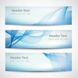 Het abstracte witte vectorontwerp van de kopbal blauwe golf Royalty-vrije Stock Foto