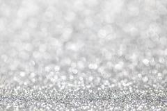 Het abstracte zilver schittert achtergrond royalty-vrije stock foto