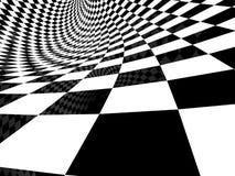Het achter en witte patroon van de controleur royalty-vrije illustratie