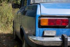 Het achterdeel van de auto stock fotografie
