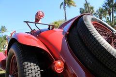 het achtergedeelte van de jaren '20raceauto Stock Afbeelding