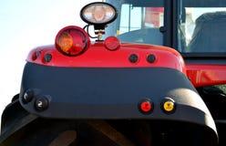Het achtergedeelte van de tractor Royalty-vrije Stock Foto