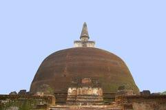 Het achtergedeelte van Rankoth Vehera, grootste Boeddhistische stupa royalty-vrije stock foto