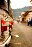Het achtergedeelte van Tuktuk Royalty-vrije Stock Afbeeldingen