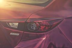 Het achterlicht van Mazda Stock Afbeelding