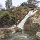Het achtervolgen van watervallen Stock Afbeelding