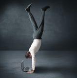 Het acrobatische werk stock afbeeldingen