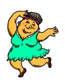 Het actieve Hogere Mensen Dansen stock foto's