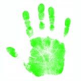 Het Af:drukken van de Hand van kinderen Stock Foto's