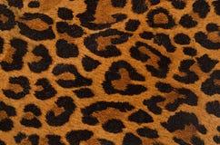 Het af:drukken van de luipaard patroon Stock Afbeelding