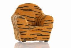 Het af:drukken van de luipaard stoel Stock Afbeeldingen
