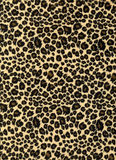 Het af:drukken van de luipaard stoffentextuur Stock Foto