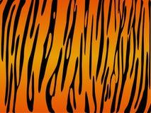 Het af:drukken van de tijger vector Royalty-vrije Stock Afbeeldingen