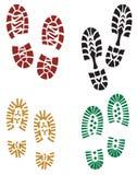 Het af:drukken van de voet royalty-vrije stock afbeelding