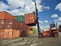 Het afbakenen van containers Royalty-vrije Stock Foto's