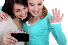 Het afbeelden van tieners Stock Afbeelding