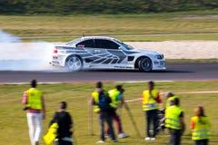 Het afdrijven BMW Royalty-vrije Stock Afbeeldingen