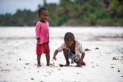 Het Afrikaanse kinderen spelen Stock Foto