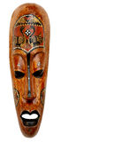 Het Afrikaanse masker Royalty-vrije Stock Foto