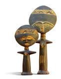 Het Afrikaanse Symbool van de Vruchtbaarheid royalty-vrije stock afbeelding