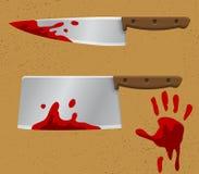 Het aftappen Knife1 Royalty-vrije Stock Afbeeldingen