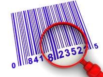 Het aftasten van de streepjescode royalty-vrije illustratie