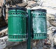 Het afval van cilinders Royalty-vrije Stock Fotografie