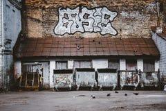 Het afval van de dakstraat Royalty-vrije Stock Afbeeldingen