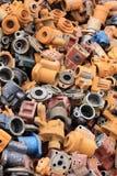 Het Afval van het metaal Stock Afbeeldingen