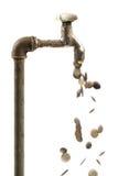 Het afvalconcept van het water Stock Afbeelding