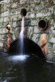 Het afvoerkanaal van het water Royalty-vrije Stock Foto