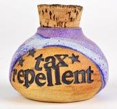 Het afweermiddel van de belasting stock afbeeldingen