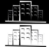 Het agentschap van het landgoed vector illustratie