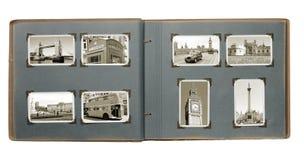Het Album van Londen Royalty-vrije Stock Afbeeldingen