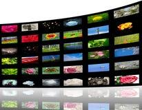 Het album van media Stock Afbeeldingen