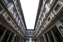 Het Album van Uffizi, Florence Stock Afbeelding