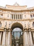 Het Album van Umberto I in Napels royalty-vrije stock afbeeldingen