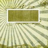 Het albumpagina van de foto Stock Foto's