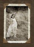 Het albumpagina van de foto Royalty-vrije Stock Foto