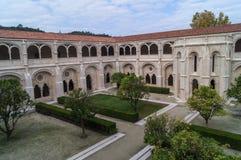 Het Alcobaca-Klooster Royalty-vrije Stock Foto's