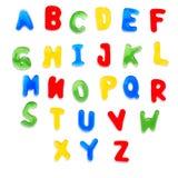 Het alfabet van de gelei royalty-vrije stock afbeeldingen