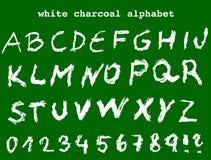 Het alfabet van de schoollijst Stock Foto
