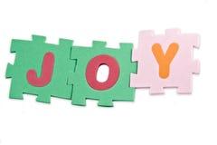 Het Alfabet van de vreugde Royalty-vrije Stock Afbeelding