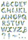 Het alfabet van Phoenix Royalty-vrije Stock Foto's