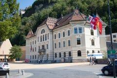 Het Algemeen Rijksarchief van Liechtenstein, Vaduz, Liechtenstein royalty-vrije stock foto