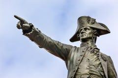 Het algemene Rochambeau-Park Autumn Washington gelijkstroom van Standbeeldlafayette royalty-vrije stock foto's