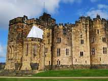 Het Alnwick kasteel Royalty-vrije Stock Foto