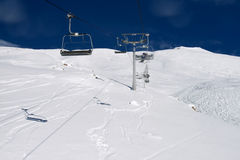 Het alpiene skiån Stock Fotografie